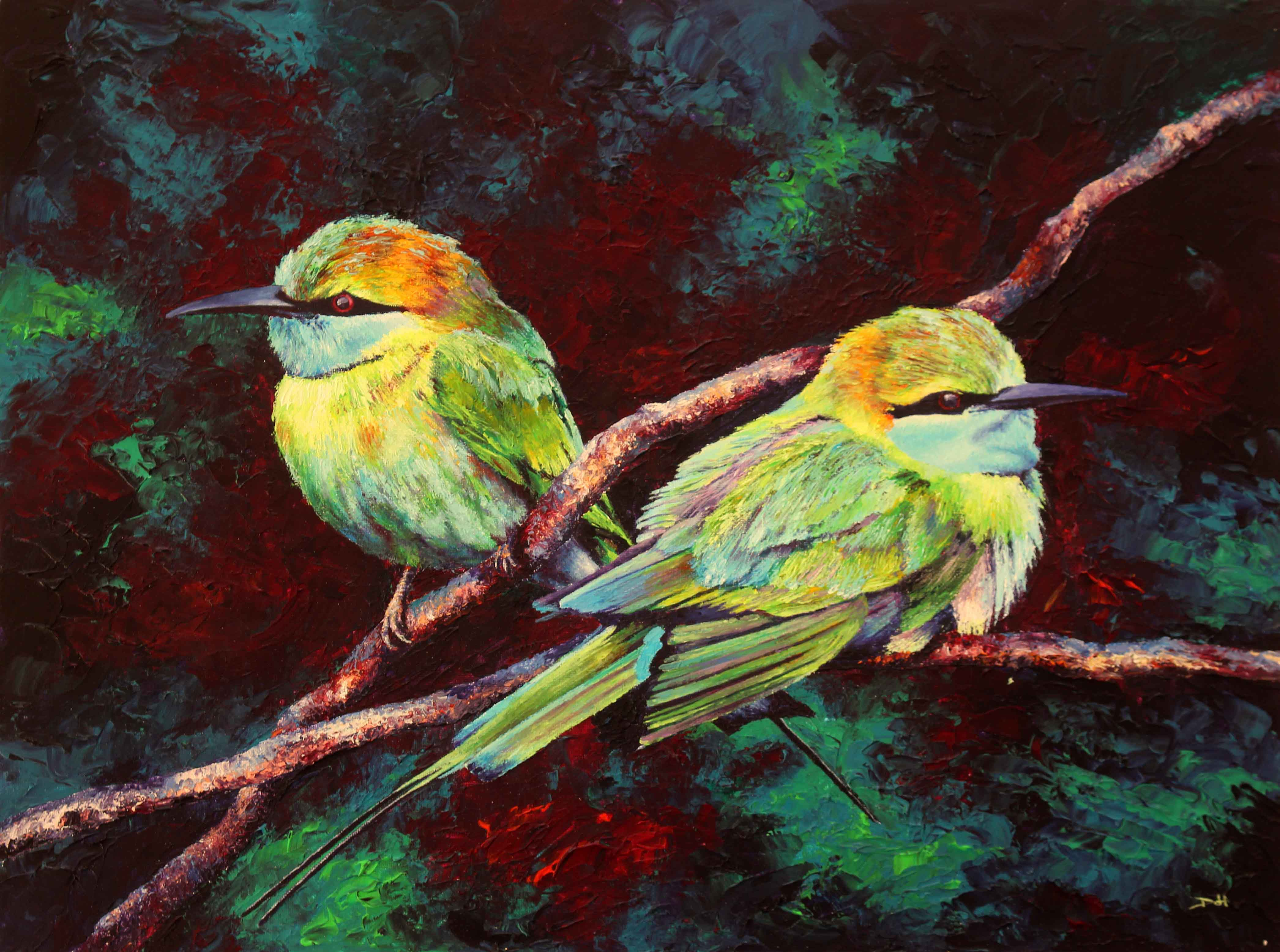 Cool Dawn (Bee Eaters)