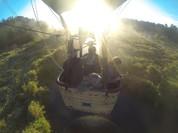 Passener flight in Annapolis Valley