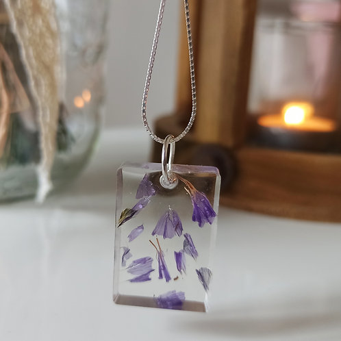 Pendentif collier Pureté Limonium