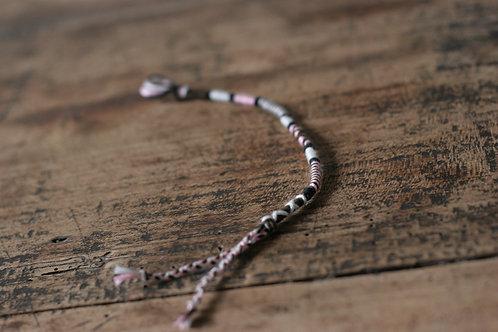 Bracelet Rond Rose Marron n°27