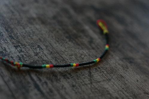 Bracelet Rond Noir Reggae n°24