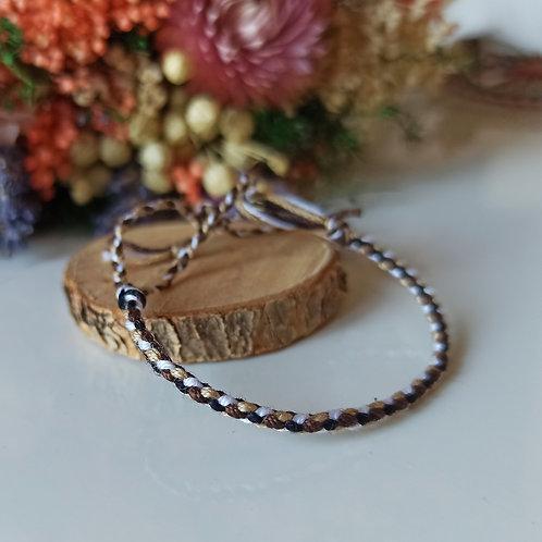 Bracelet Tressé 4 brins n°4
