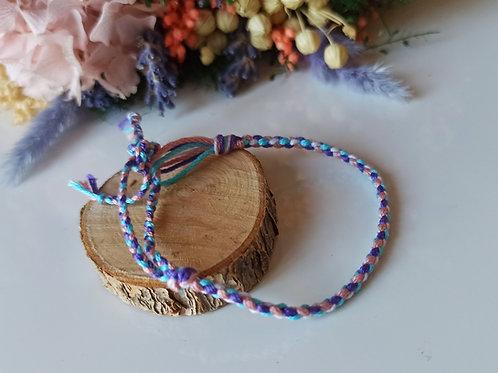 Bracelet Tressé 4 brins n°2