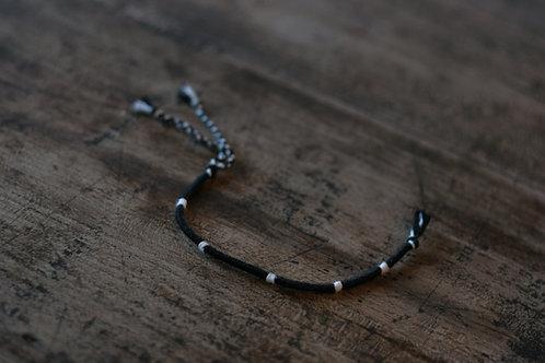 Bracelet Rond Noir et Blanc n°26