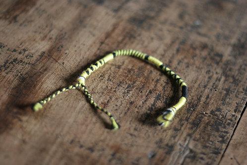 Bracelet Rond Jaune et Noir n°15