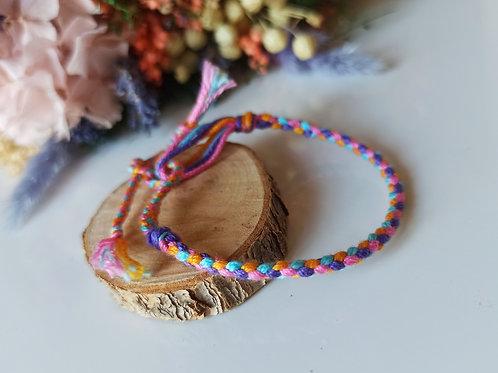 Bracelet Tressé 4 brins n°3