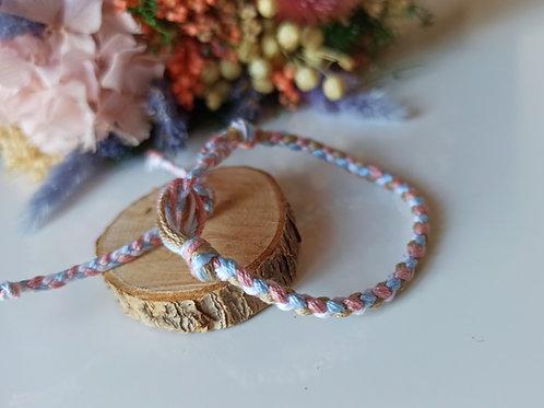 Bracelet Tressé 4 brins n°1
