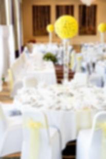 wedding room styling