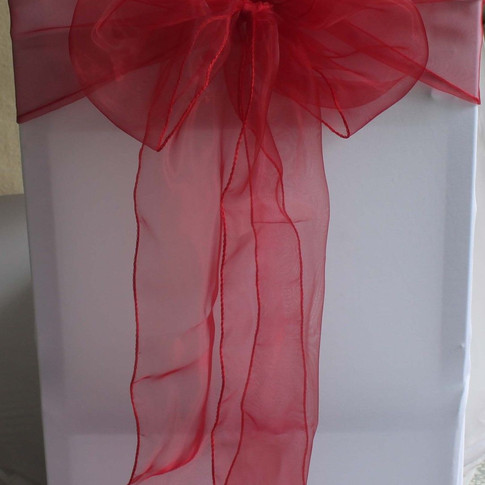 Red Organze Sashes