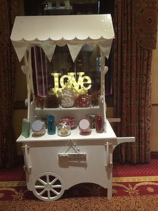 Special offer on sweet cart hire - £50 off until 28/2/18