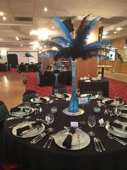 table setting & centrepiece