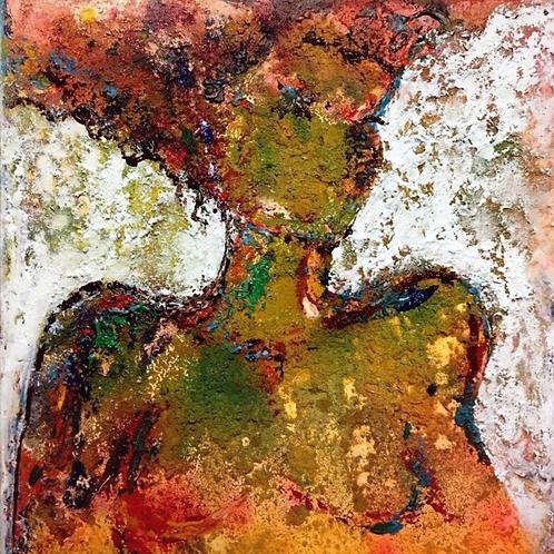 Una pintura de Shiva Asghari