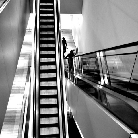 Escalators in NYC