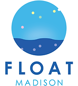 float madison logo stacked full color wh