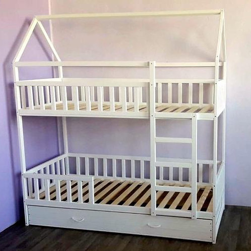 CAMA BELICHE (com terceira cama para hóspede)