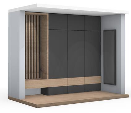 Visualisierung Wohnhaus Kersbach