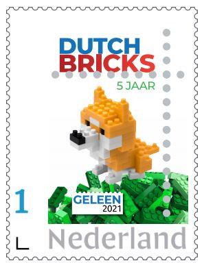 Dutchbricks postzegel