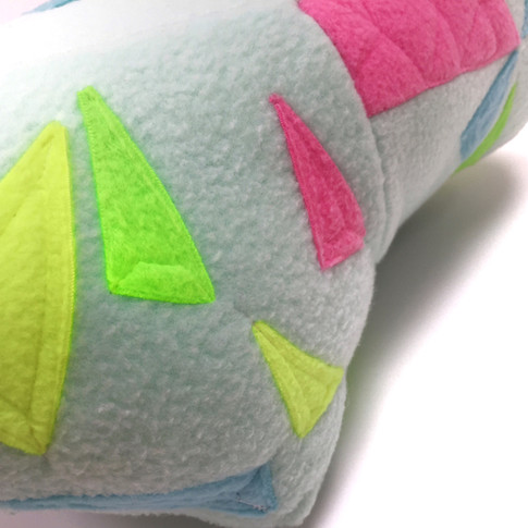 Detail on Opal pillow