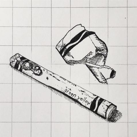 Crayon study