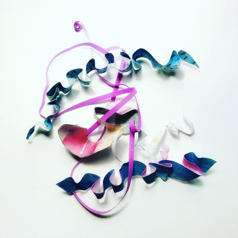 Angry ribbons