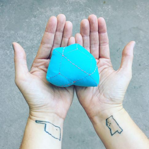 Small blue gem