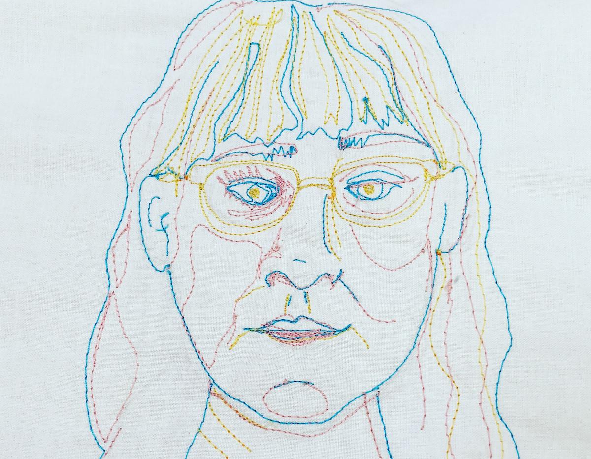 Tri Color Self Portrait, 2018