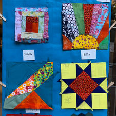 Student work from Cazadero 2019 - traditional and freeform blocks.
