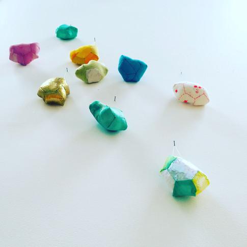 Floating gems