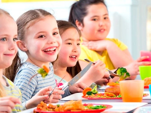 兒童餐桌禮儀