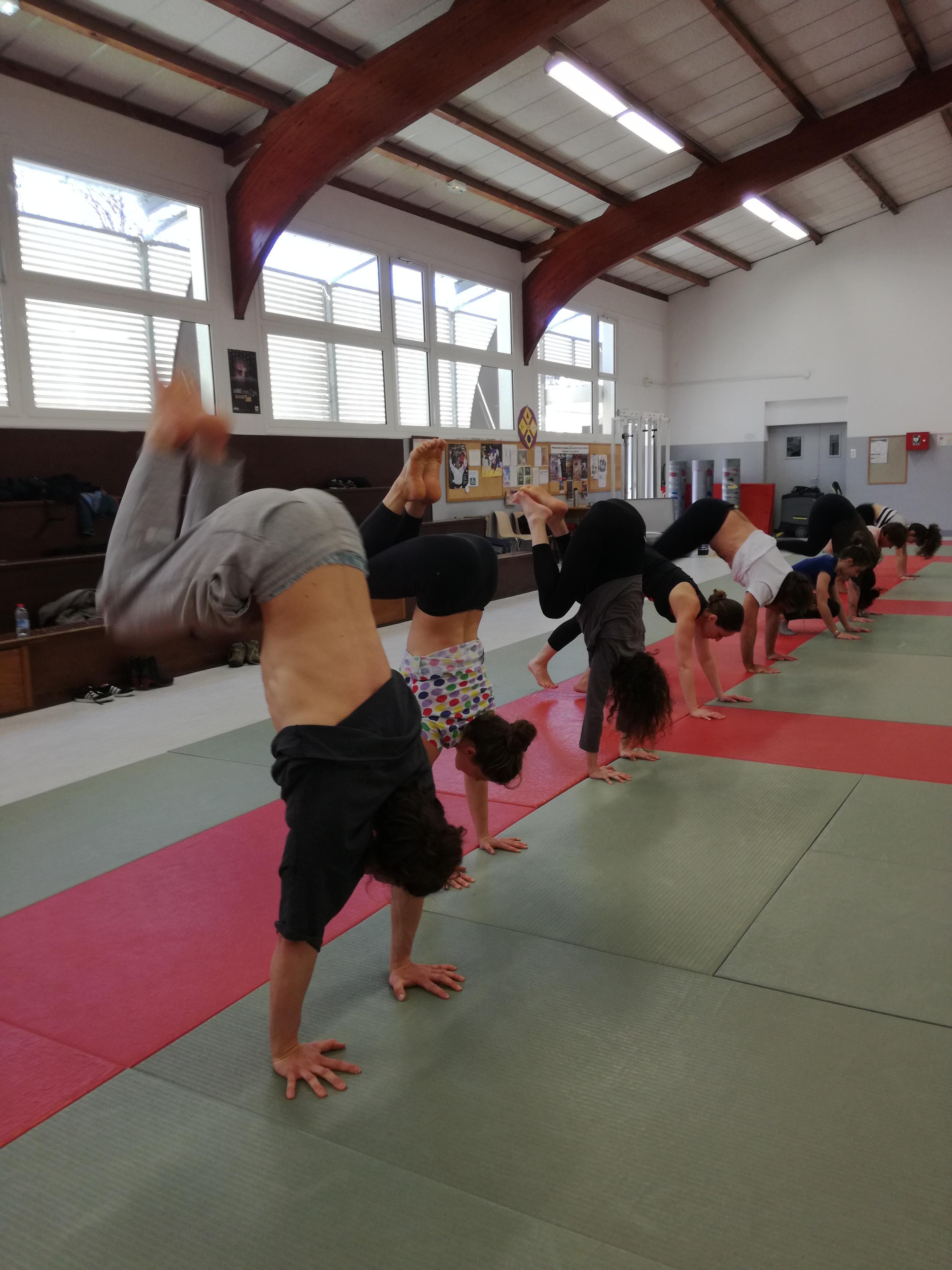 équilibre et alignement des appuis