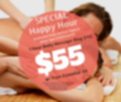 Happy Hour Special (Orchid Massage Spa).
