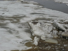 Ice drift, May 2008