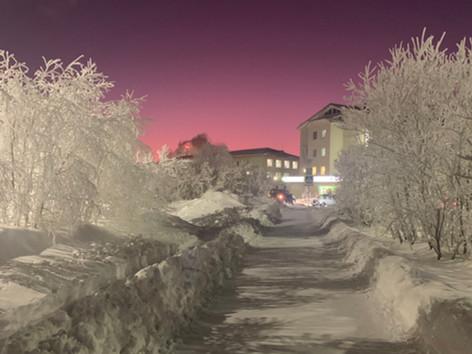 Sunset 4.30 pm, Winter 2020