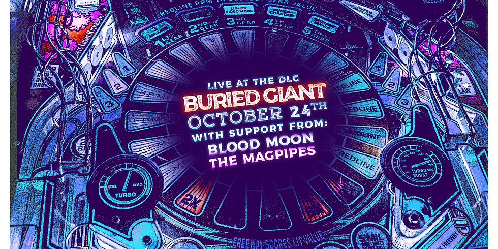 Buried Giant // Magpipes // Blood Moon