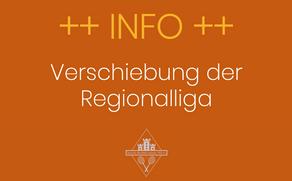 Regionalliga 2021: Neue Termine
