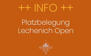 Lechenich Open ab dem 3. August