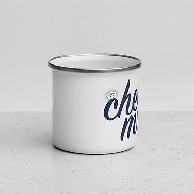 EA Cheer Mom - Enamel Mug