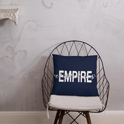 Empire Athletics Pillow (Navy)