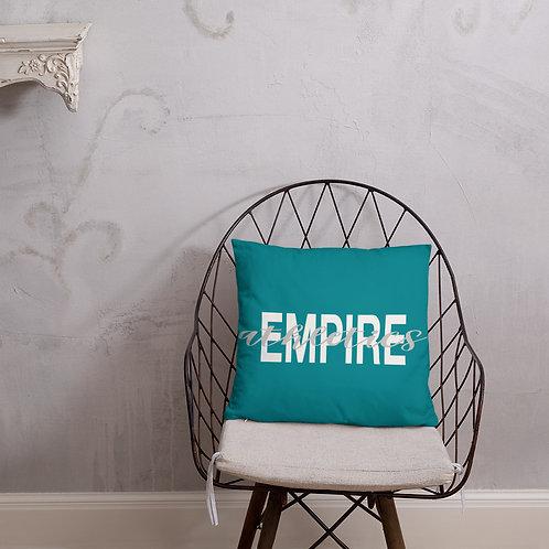 Empire Athletics Pillow (Turquoise)