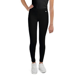 Black Youth Leggings