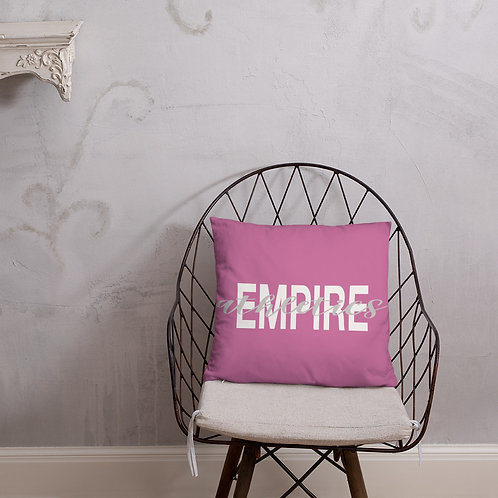 Empire Athletics Pillow (Pink)