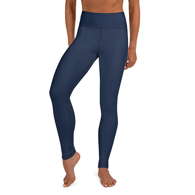 Navy Yoga Leggings