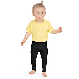 Black Kid's Leggings