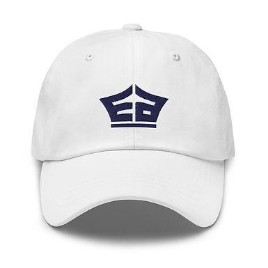 White EA Dad hat