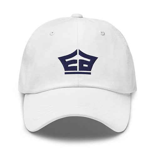 White EA Dad hat