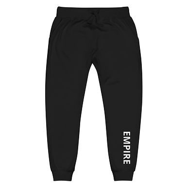 Unisex Fleece Sweatpants - EMPIRE