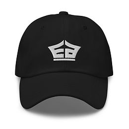 Black EA Dad hat