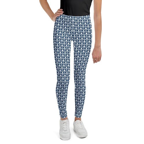 Navy EA Youth Leggings