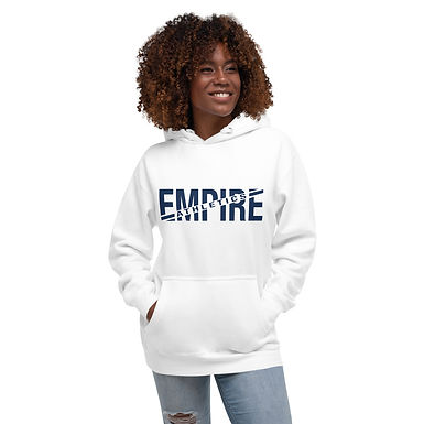 Empire Athletics - Unisex Hoodie (Navy Text)