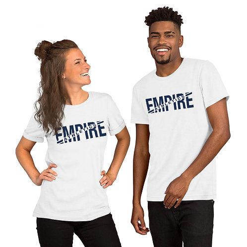 Empire Athletics - Short-Sleeve Unisex T-Shirt (Navy Text)